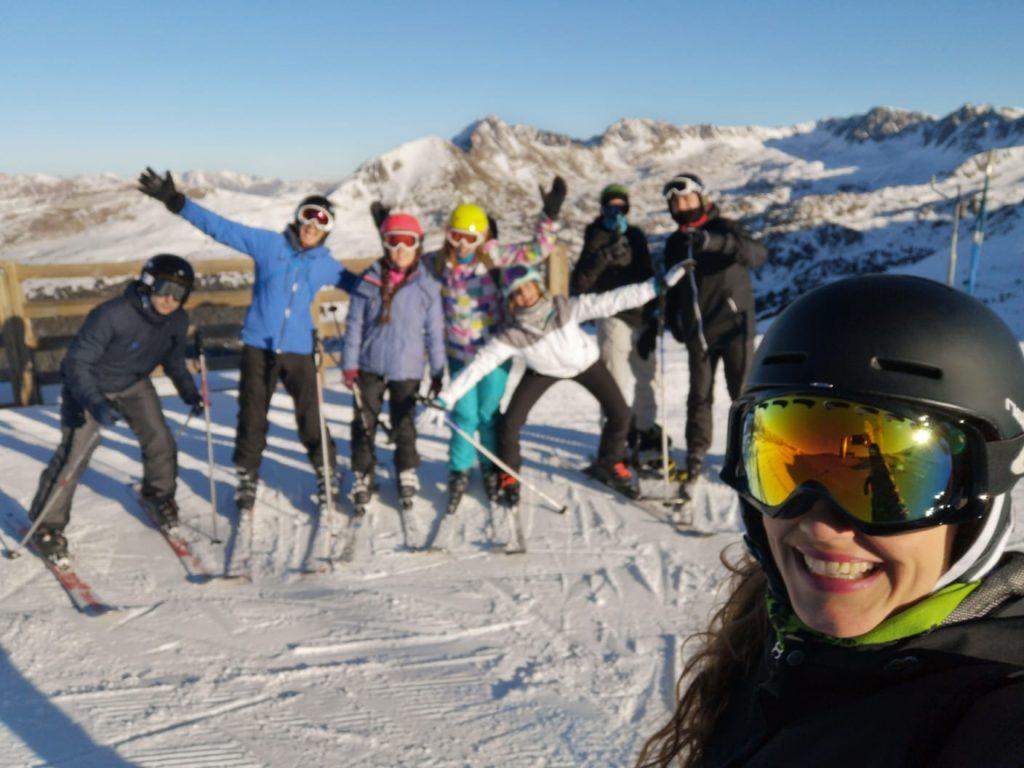 Viaje Ski Escolares y amigos Escuela Igloo 1