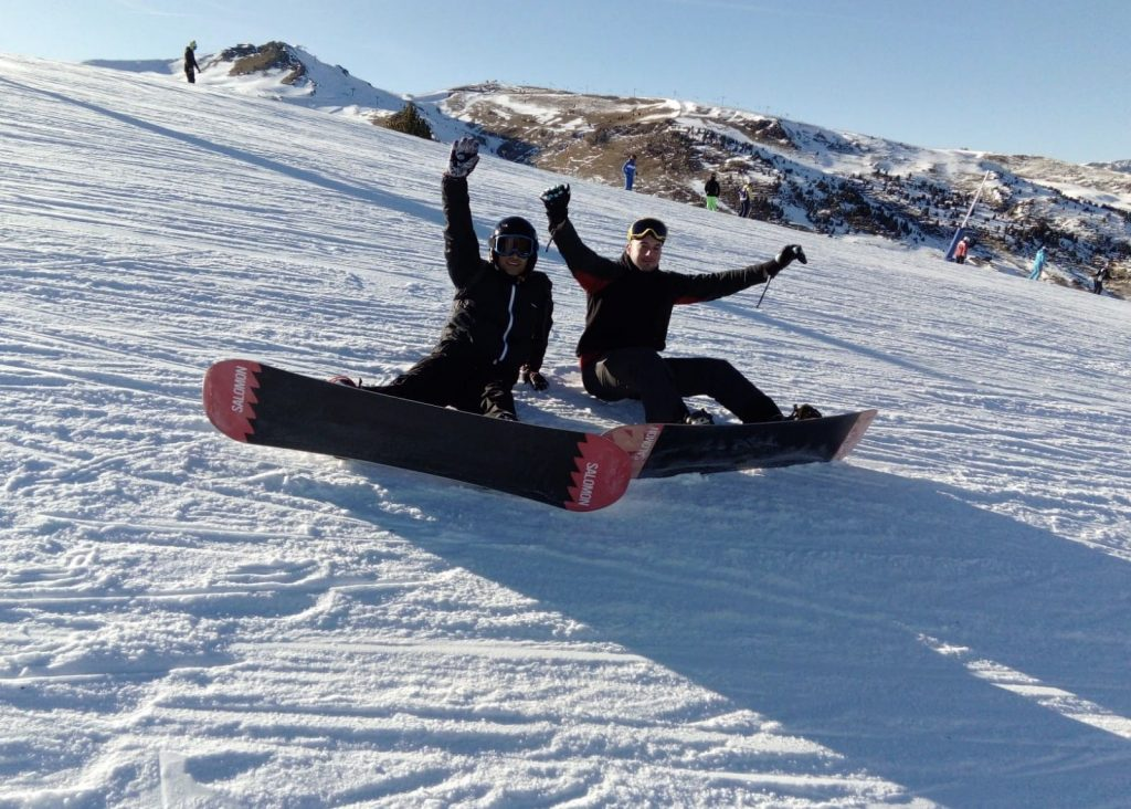 Viaje Ski Escolares y amigos Escuela Igloo 4