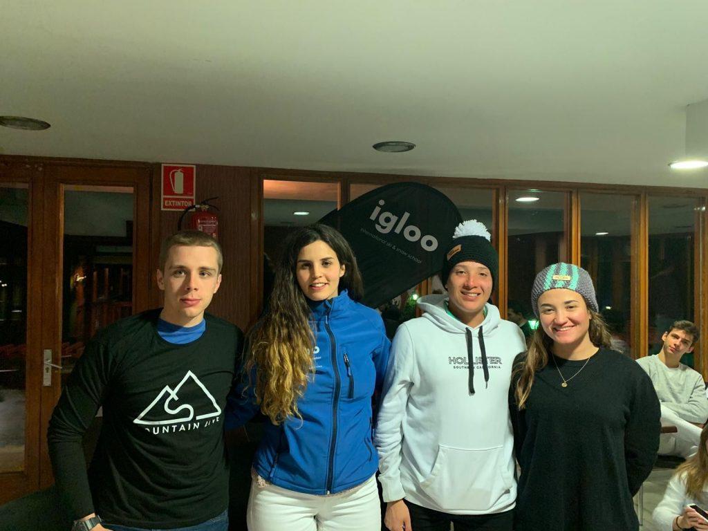 Viaje Ski Escolares y amigos Escuela Igloo 5