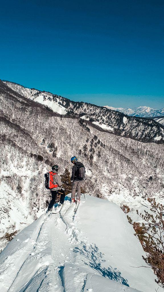 esqui de montaña material
